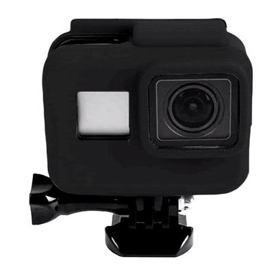 Melhores acessórios para GoPro: Capinha de silicone