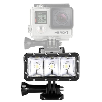 Melhores acessórios para GoPro: Flash à prova d'água