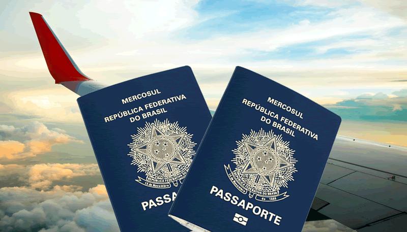 Países em que não precisa apresentar passaporte