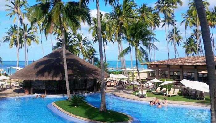 Resort Grande Oca, em Maragogi