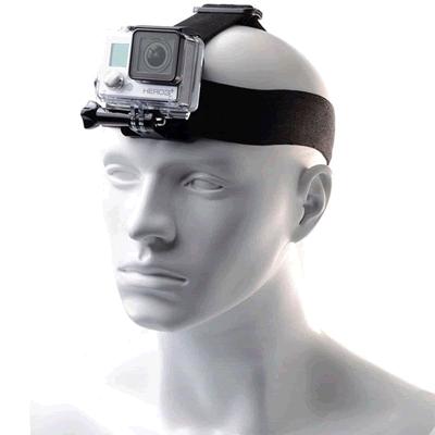 Melhores acessórios para GoPro: Suporte de Cabeça