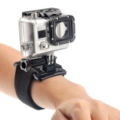 Melhores acessórios para GoPro: Suporte de Punho/Pulso