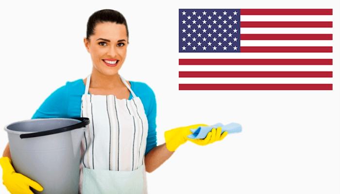 Quanto ganha uma faxineira nos EUA?