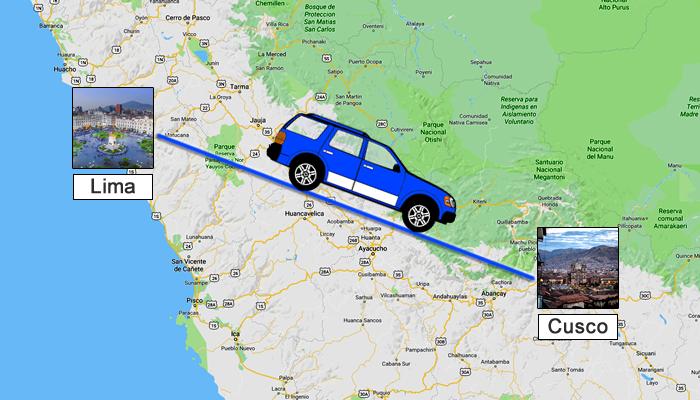 Como ir de Lima para Cusco?