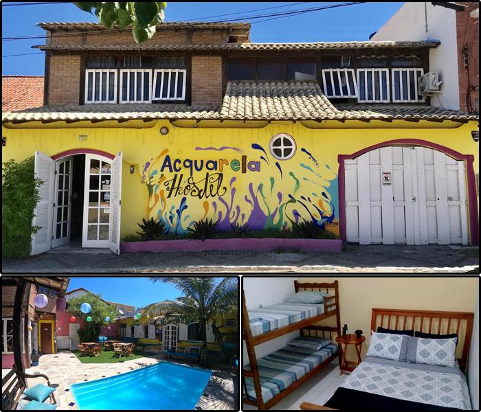 Hotéis e Pousadas na Praia dos Anjos: Acquarela Hostel