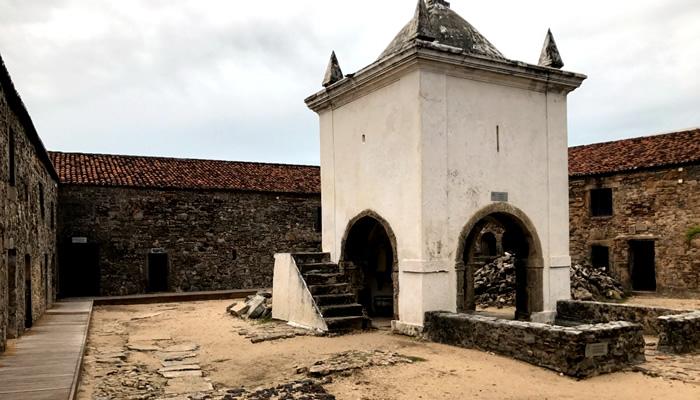Capela dos Reis Magos, no Forte dos Reis Magos