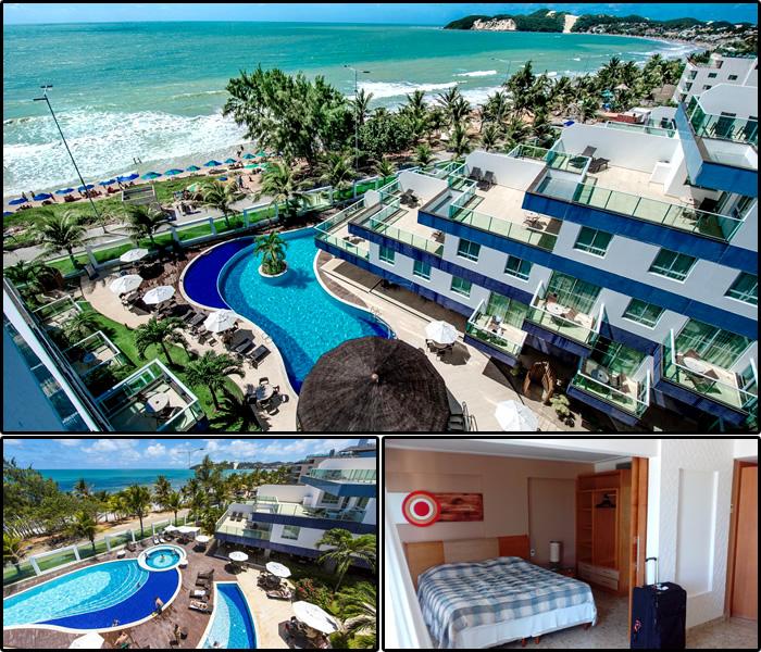 Melhores Hotéis e Pousadas em Ponta Negra, Natal/RN: Coral Plaza Apart Hotel