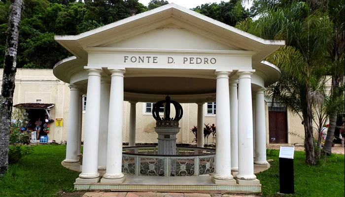 Parque das Águas de Caxambú/MG: Fonte Dom Pedro