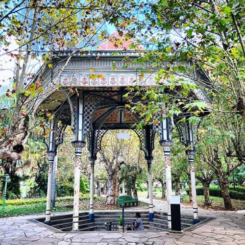 Parque das Águas de Caxambu/MG: Fonte Dona Leopoldina