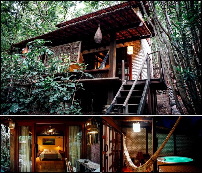 Hotéis em Tibau do Sul/RN: Chalé Mirante de Pipa