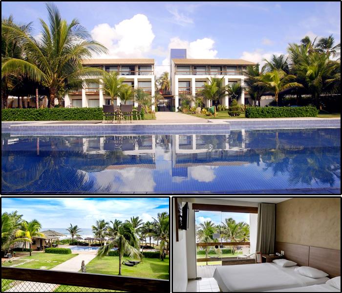 Hotel Villa da Praia, em Itapuã