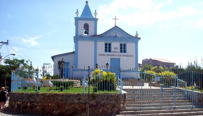 Praia dos Anjos (Arraial do Cabo/RJ):Igreja de Nossa Senhora dos Remédios