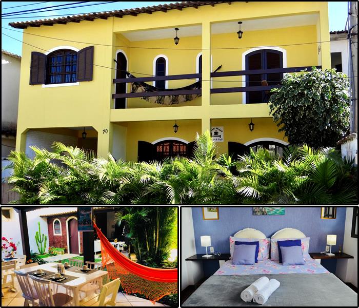 Hotéis e Pousadas na Praia dos Anjos: Leal Praia Cama & Café