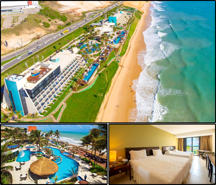 Melhores Hotéis da Praia dos Artistas, Natal/RN: Ocean Palace Beach Resort & Bungalows