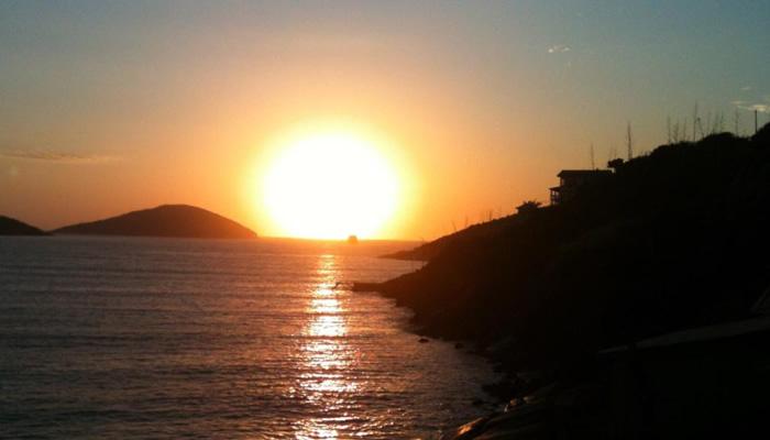 Pôr do Sol na Praia dos Anjos