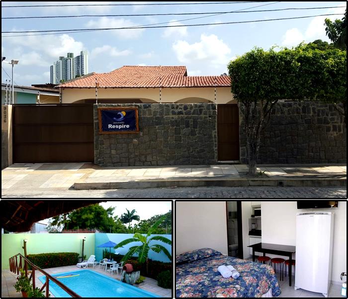 Melhores Hotéis e Pousadas em Ponta Negra, Natal/RN: Pousada Respire