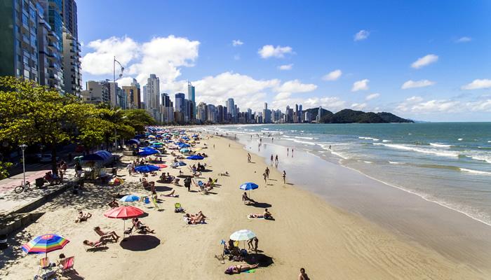 Melhores praias de Balneário Camboriú: Praia Central