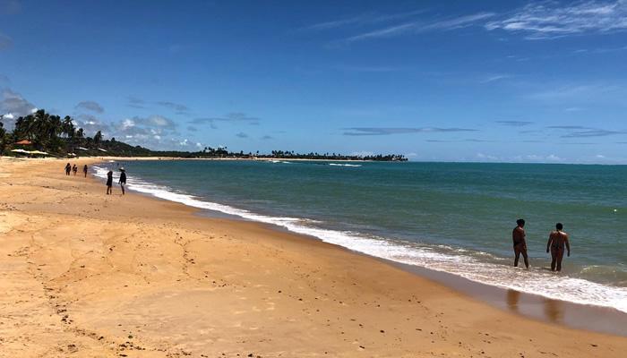 Praia de Sonho Verde, em Paripueira-AL