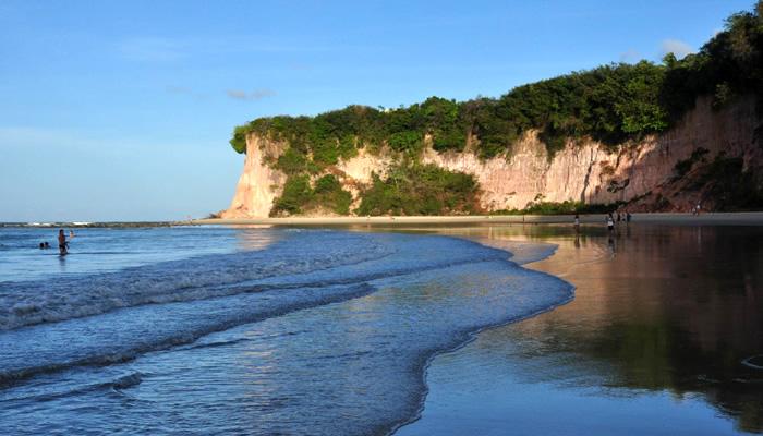 Praias de Tibau do Sul/RN: Praia do Curral