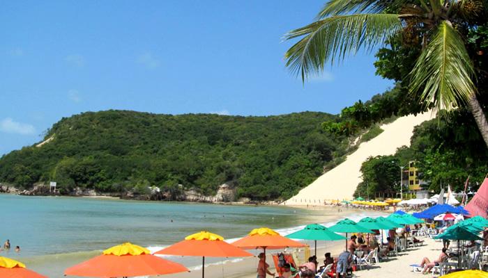 Praia dos Artistas, Natal/RN: Barracas