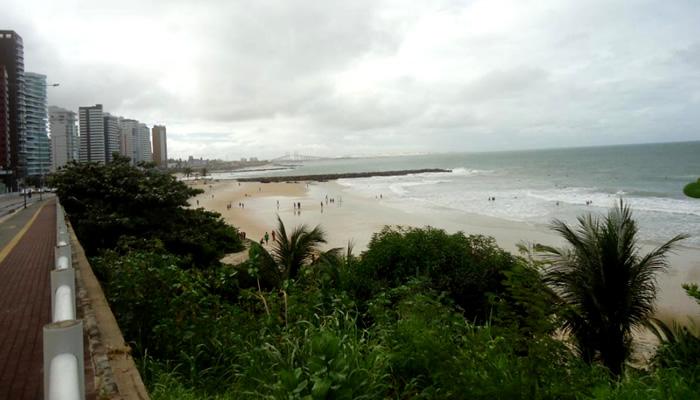 Praia dos Artistas/RN: Parte menos movimentada
