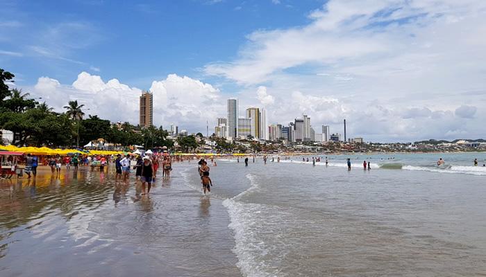 Barracas da Praia de Ponta Negra, em Natal/RN