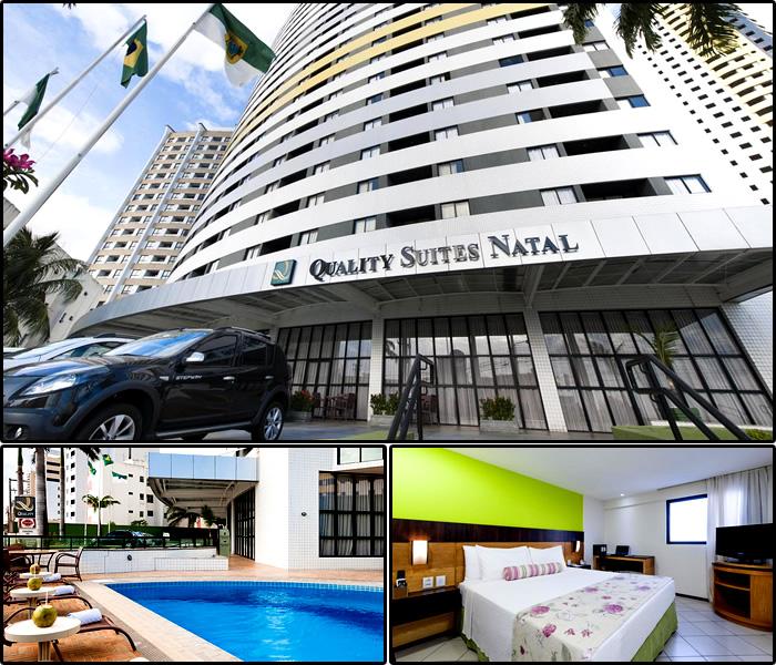Melhores Hotéis e Pousadas em Ponta Negra, Natal/RN: Quality Suites Ponta Negra