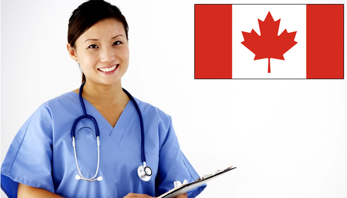 Quanto ganha um enfermeiro no Canadá?