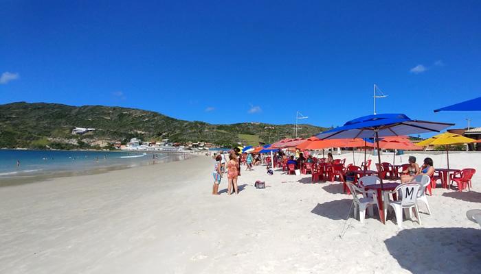 Praia dos Anjos (Arraial do Cabo/RJ): Quiosques