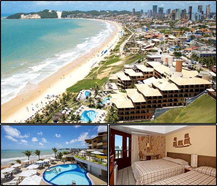 Melhores Hotéis da Praia dos Artistas, Natal/RN: Rifóles Praia Hotel e Resort