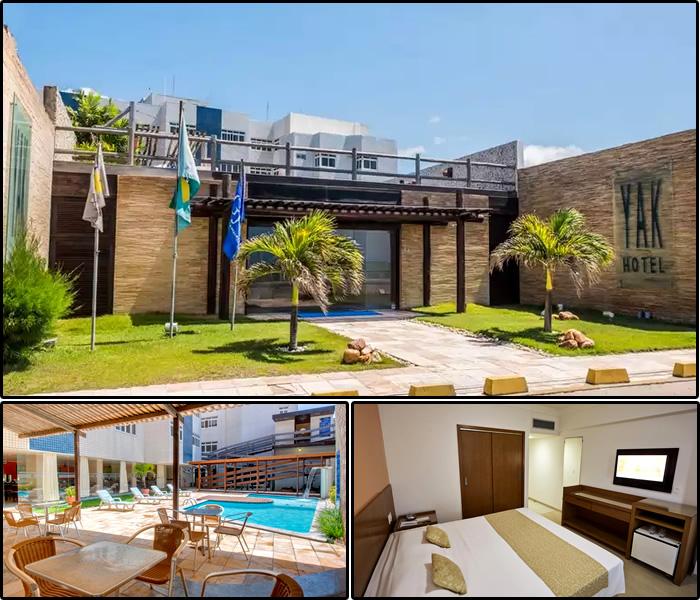 Melhores Hotéis da Praia dos Artistas, Natal/RN: Yak Beach Hotel Natal