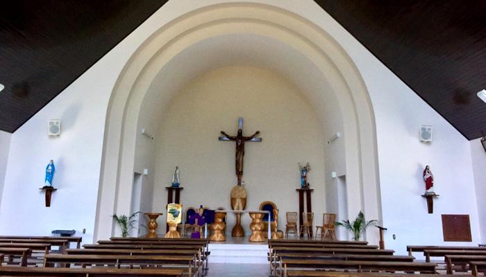 O que fazer em Rio dos Cedros/SC: Altar de Capela de São Miguel