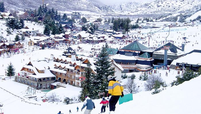 Estação de Ski Cerro Catedral, em Bariloche