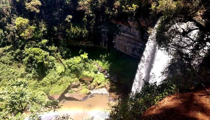 O que fazer em Rio dos Cedros/SC: Cachoeira Formosa