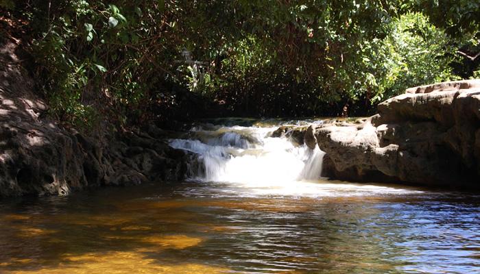 O que fazer na Lagoa de Pitangui: Cachoeirinha de Pitangui