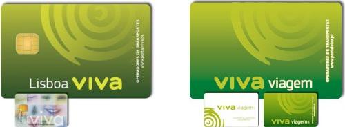 Cartão Lisboa Viva e Viva Viagem