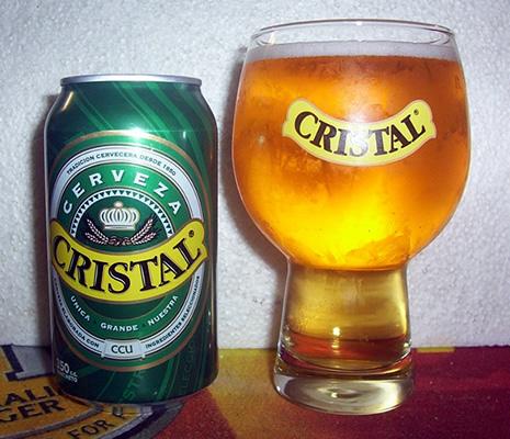 Bebidas Típicas do Chile: Cerveja Cristal