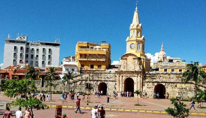 Cidade Murada (Amuralhada), em Cartagena de Índias