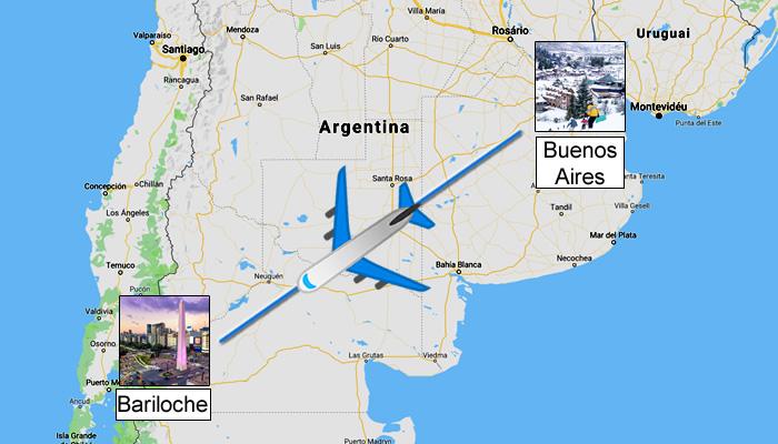 Como ir de Buenos Aires para Bariloche?