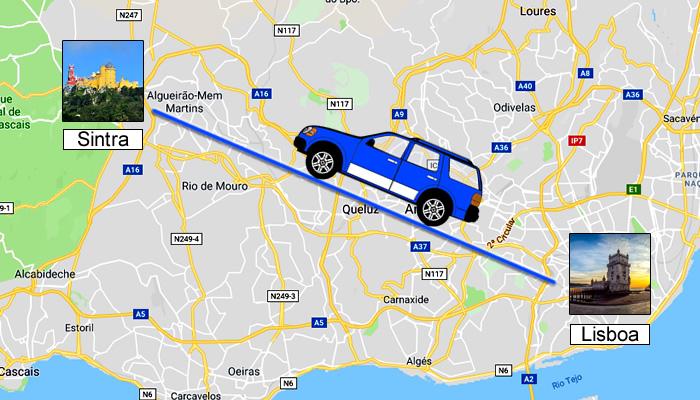 Como ir de Lisboa a Sintra?