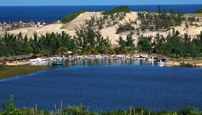 Lagoa de Pitangui, em Extremoz-RN