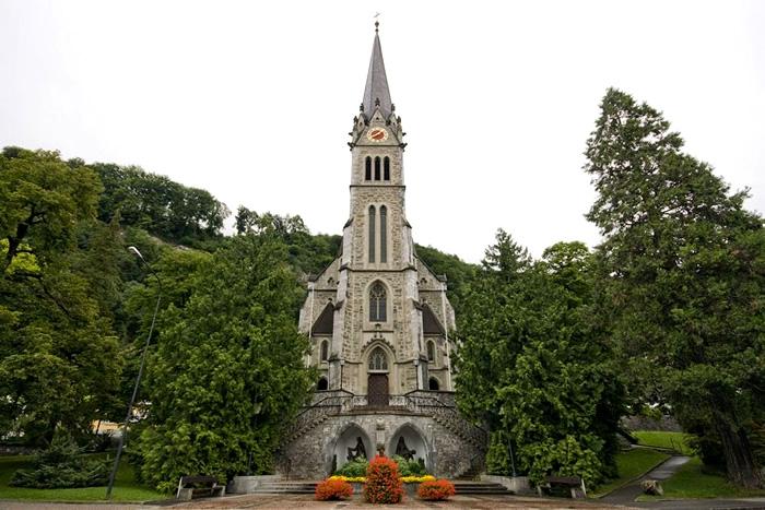 O que fazer em Liechtenstein: Catedral de Vaduz