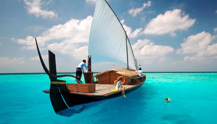 O que fazer nas Maldivas: Passeio de barco nas Maldivas