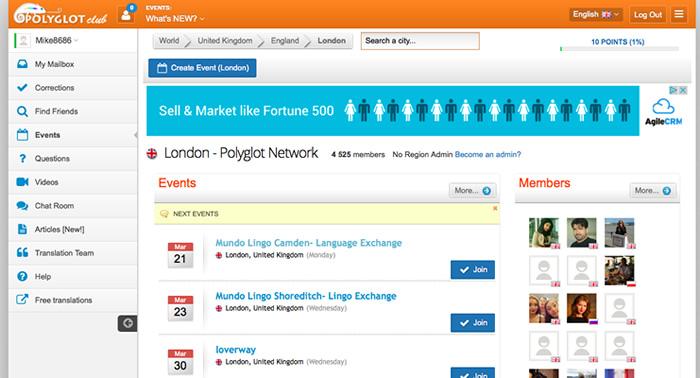Como conhecer e conversar com pessoas de outros países pela Internet: Polyglot Club