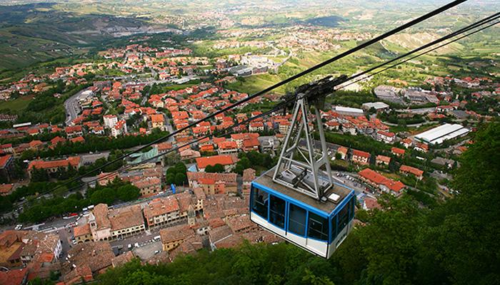 O que fazer em San Marino: Teleférico