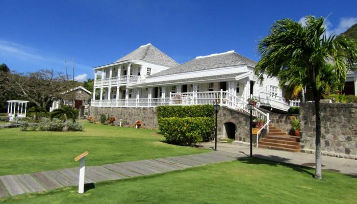 O que fazer em São Cristóvão e Névis: Fairview Great House & Botanical Garden
