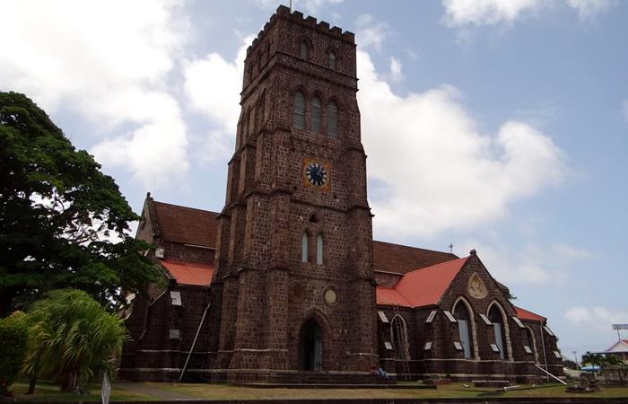 O que fazer em São Cristóvão e Névis: Catedral Anglicana de São Jorge