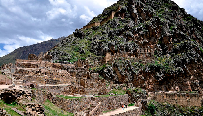 Sítio Arqueológico de Ollantaytambo, no Peru