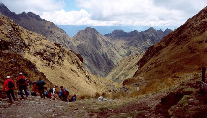 Trilha Inca: Warmihuañusca