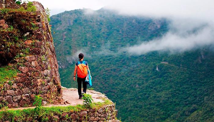 Trajeto clássico da Trilha Inca para Machu Picchu